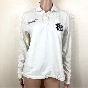 Polo Ralph Lauren Women's Blouse white L
